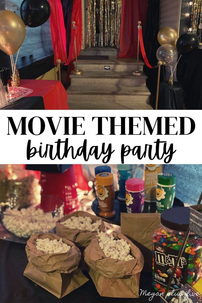 Movie themed party, how to host the perfect movie theme birthday party